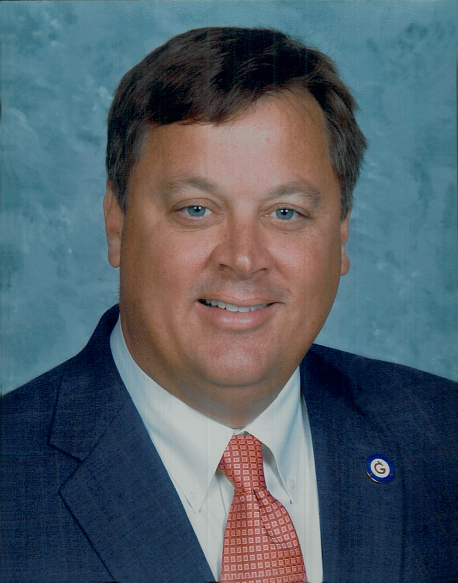 Photo of Jim Horton, the Superintendent of Gulf District Schools